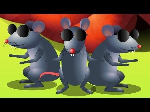 Three blind mice Lyrics and Video