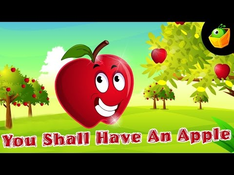 You shall have an apple Nursery Rhymes