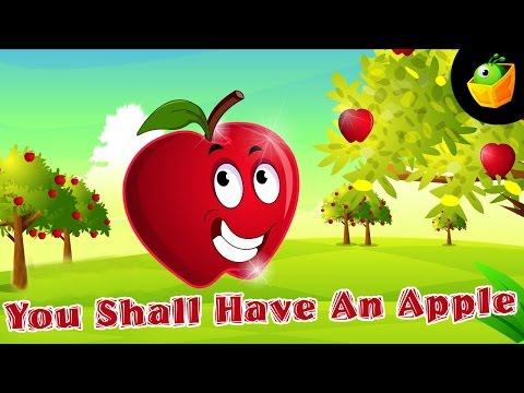 You shall have an apple Nursery Rhymes
