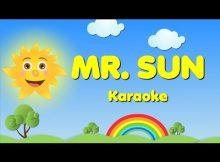 Oh Mr. Sun Sun, Mister Golden Sun